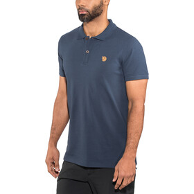 Fjällräven Övik - Camiseta manga corta Hombre - azul